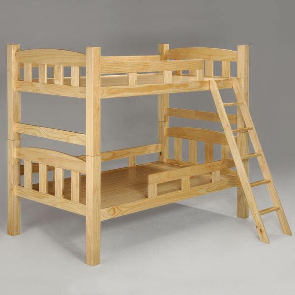 雅登3.5尺雙層床-原木色❘上下鋪 / 雙層床 / 兒童床鋪 / 床架 / 單人床【Yostyle】 - 限時優惠好康折扣