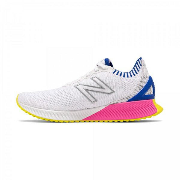 【NEW BALANCE】NB 跑鞋 Fuelcell ECHO 輕量 透氣 白 女鞋 -WFCECSWB