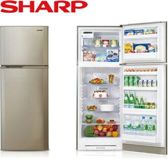 SHARP 夏普 SJ-E31T-S 310L 變頻電冰箱 二門