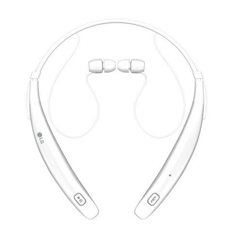 LG Tone Pro HBS-770 Bluetooth Stereo Headset (White) - Refurbished