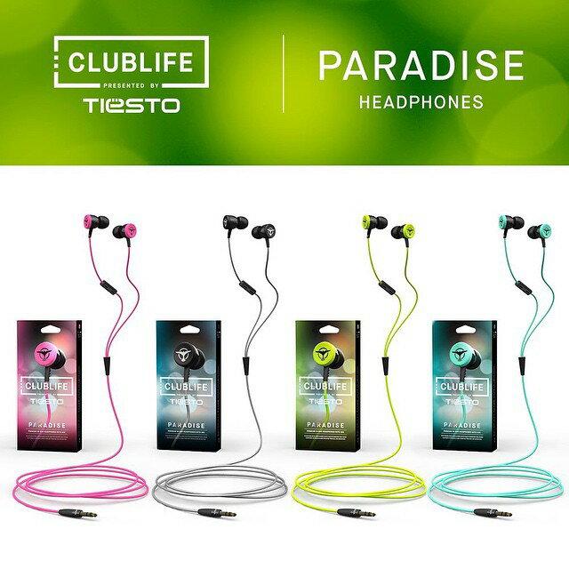 志達電子 PARADISE 澳洲 AudioFly Clublife by Tiësto 線控 耳道式耳機 Apple Android