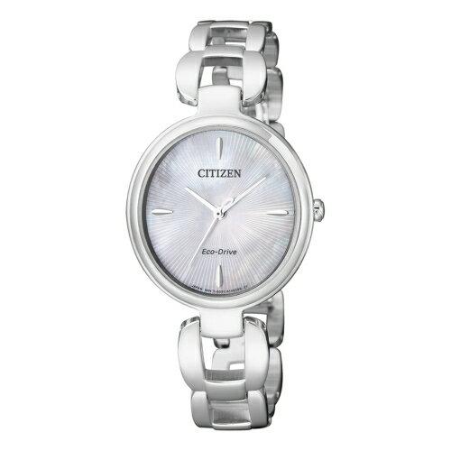 CITIZEN Eco-Drive 絕佳優雅光動能女仕腕錶/EM0420-89D