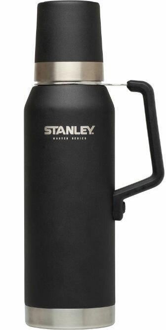 Stanley 大師真空保溫瓶/不鏽鋼保溫水壺/手沖咖啡參考/超強保溫40小時 Master 1.3L 黑 1002659