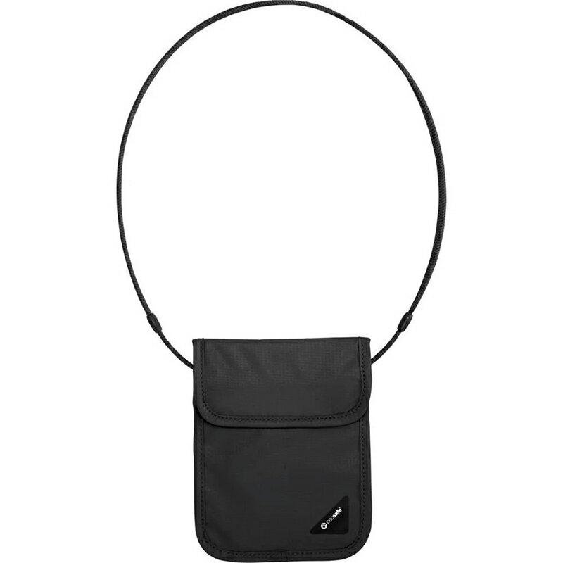 【Pacsafe】Coversafe X RFID 防剪掛頸包 X75 -黑/灰 10148100 / 10148103
