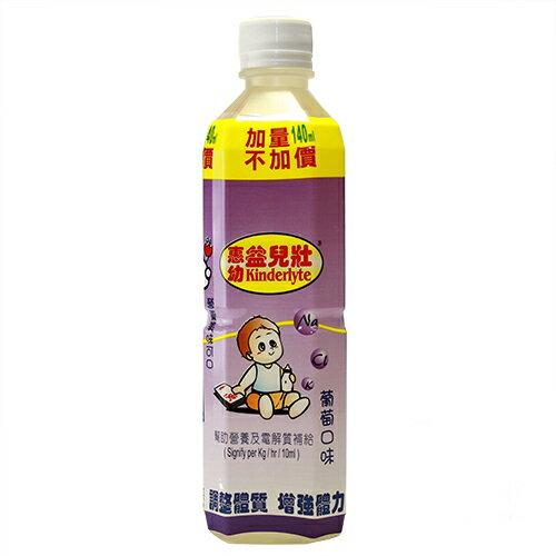惠幼 益兒壯電解質/電解水飲品500P(葡萄)【德芳保健藥妝】