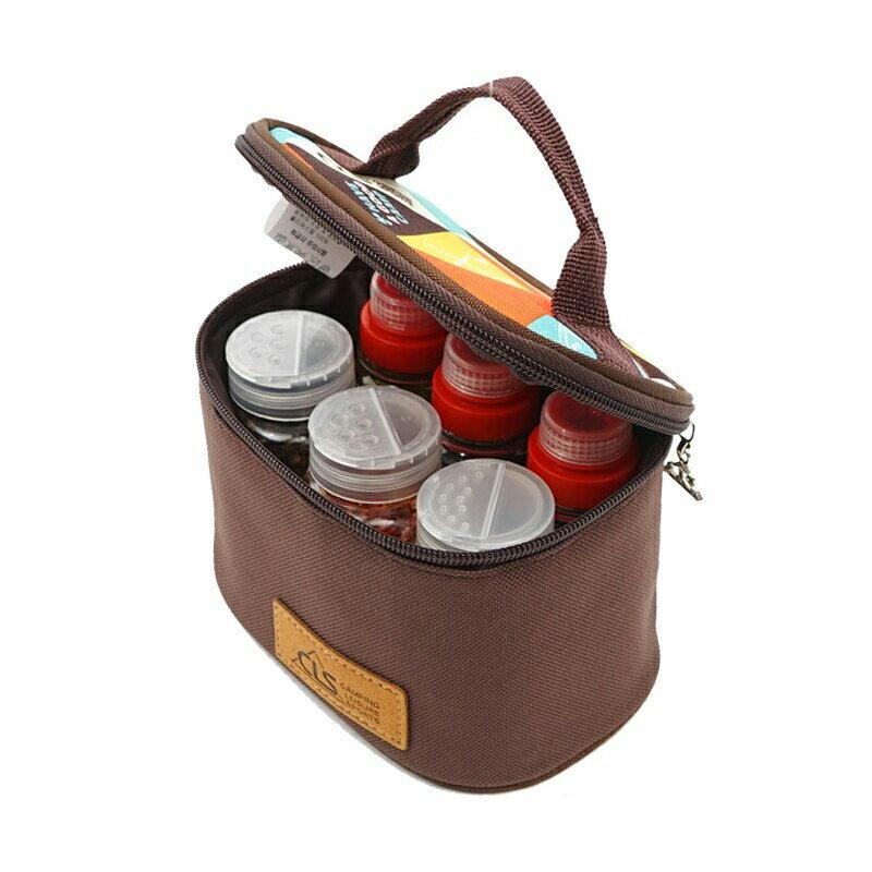 【台灣現貨】CLS迷你調味瓶6件套組 調味罐 露營調味組 鹽罐 醬料瓶 調味瓶 香料瓶【EG649】99750走走去旅行