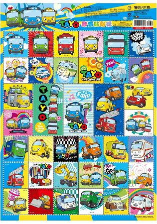 韓國TAYO小巴士郵票貼紙