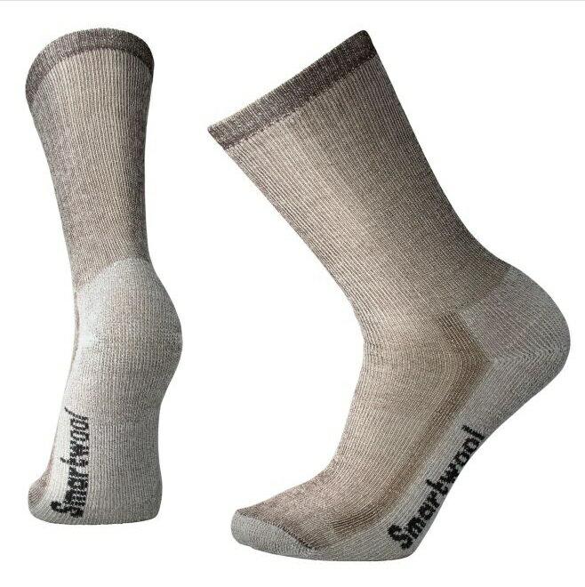 【【蘋果戶外】】Smartwool SW130 236 灰褐色 中量級避震型中長襪 登山襪 美國製造 美麗諾羊毛襪 排汗襪 保暖 吸濕 抗臭