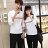 ◆快速出貨◆T恤.情侶裝.班服.MIT台灣製.獨家配對情侶裝.客製化.純棉長T.簡約雙色細線【YL0158】可單買.艾咪E舖 4