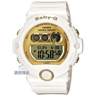 【錶飾精品】現貨卡西歐CASIO Baby-G甜美魅力 BG-6901-7 白框金BG-6901-7DR/ER