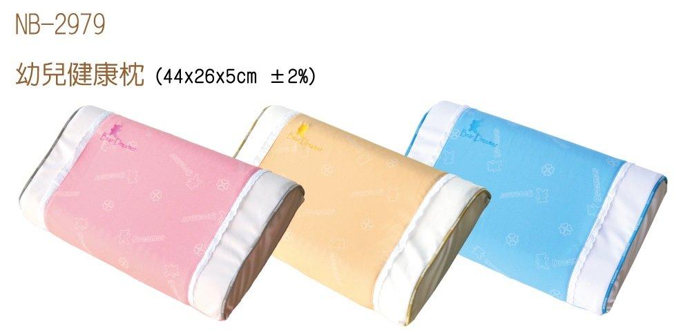 Mam Bab夢貝比 - 好夢熊幼兒健康枕 -單布套 (粉、黃、藍) 3