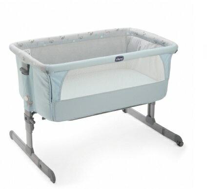 【淘氣寶寶】義大利 Chicco Next 2 Me 多功能移動舒適嬰兒床(湖水藍)