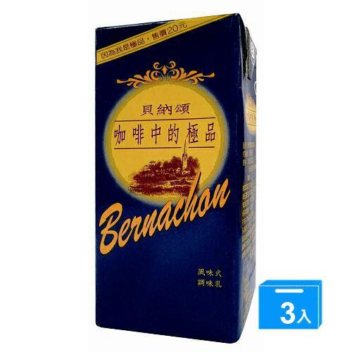 味全貝納頌咖啡375ml*3入【愛買】