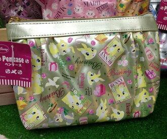 =優生活=日本進口 迪士尼系列邦妮兔亮面化妝包 收納包 筆袋