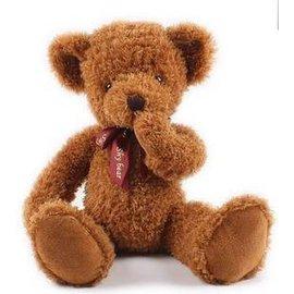 =優生活=泰迪熊 害羞熊 不聽不看不說毛絨抱抱熊 生日禮物 情人節禮物