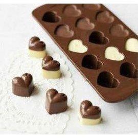 =優生活=廚房創意用品 愛心冰格 15格小愛心模具 巧克力模具果凍模具