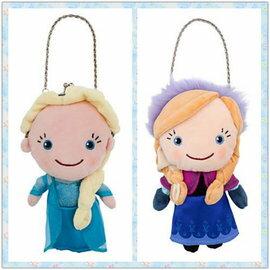 =優生活=美國迪士尼 FROZEN 冰雪奇緣 ELSA 艾莎 ANNA 安娜 零錢包 小提包 兒童包包 珠扣錢包 免國際運費