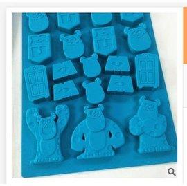 =優生活=迪士尼毛怪 玩具總動員食品級矽膠 巧克力蛋糕模 手工皂 果凍布丁模 卡通冰格 製冰模具 DIY模具 可愛冰格 大