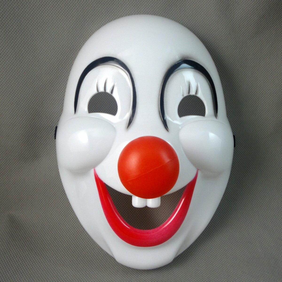 =優生活=萬聖節卡通 動漫遊戲表演面具舞會節日硬質小丑面具 cosplay面具
