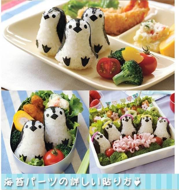 =優生活=日本arnest水族館 企鵝飯團模具 壽司模具 創意便當 廚房DIY 親子DIY