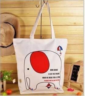 =優生活=韓國 可愛小象 大象購物包 休閒包 媽媽包 補習包 單肩包 側背包 手提包