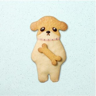 =優生活=超萌卡通系列餅乾模 骨頭小狗 組合裝 3D不鏽鋼 餅乾模具 翻糖餅乾 收延餅乾模具