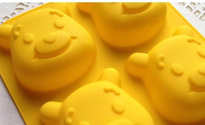 =優生活=廚房創意用品 小熊維尼模具 維尼巧克力模具 布丁模 蛋糕 烘培模具 蒸烤皆可