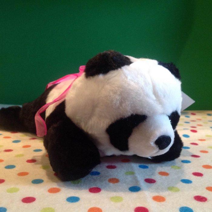 =優生活=超可愛萌系 大貓熊 熊貓娃娃 玩偶趴姿造型 安全合格認證娃娃 柔軟娃娃 30公分