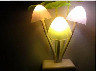 =優生活=阿凡達磨菇燈 光感應 排插感應小夜燈 創意燈飾 禮品 夜燈 床頭燈
