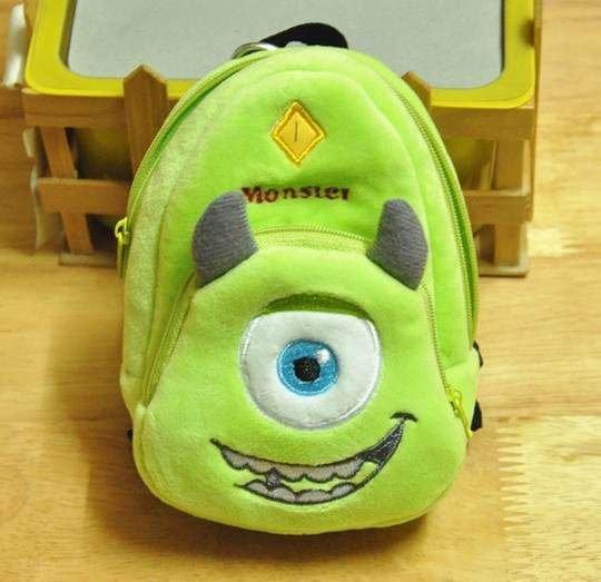 =優生活=迪士尼 怪獸電力公司 大眼怪 單眼仔 書包造型錢包 後背包 相機包 手機包