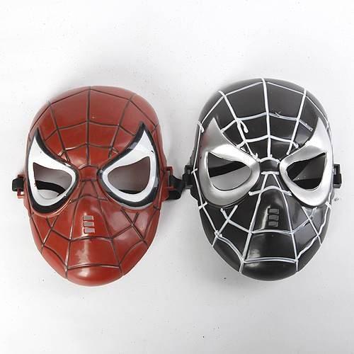 =優生活=蜘蛛人面具 不發光 萬聖節 聖誕節 造型面具 表演面具