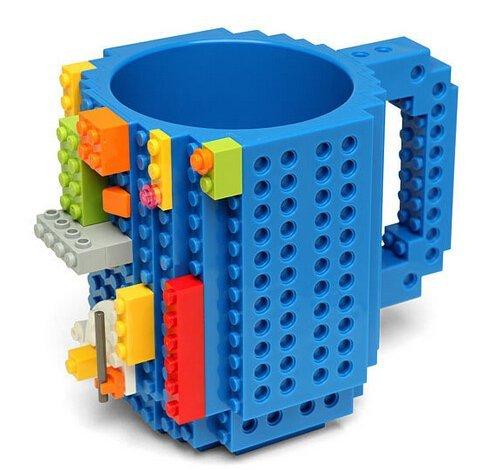 =優 =美國 聖誕 Lego樂高積木  DIY組裝 積木 馬克杯 咖啡杯子 DIY杯子