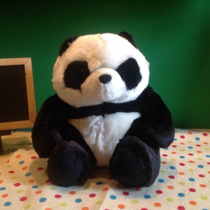 =優生活=超可愛萌系 大貓熊 熊貓娃娃 玩偶 坐姿大娃娃 安全玩具合格認證 28公分