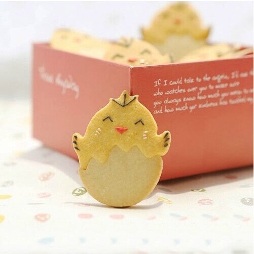 =優生活=烘焙工具 3D蛋殼小雞餅乾 不鏽鋼模子 餅乾模具 卡通餅乾模具 廚房模具 小蛋糕翻糖