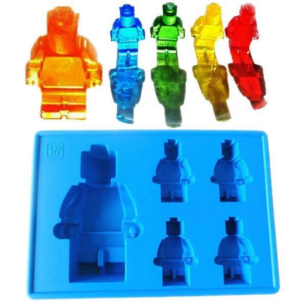 =優 =食用級矽膠樂高人偶積木型冰格 製冰盒 冰格模具 冰格 果凍模 甜點飲料 冰塊 LE