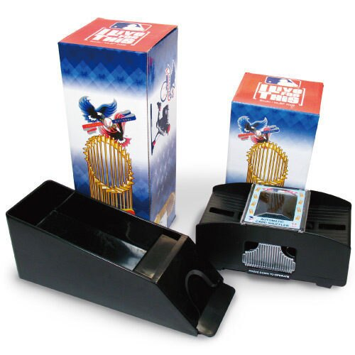 =優 =MLB 美國大聯盟 世界大賽 自動洗牌機 發牌器 整組收藏 更具價值 一組