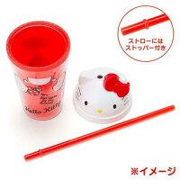 霍爾的移動城堡vs崖上的波妞周邊商品推薦日本三麗鷗卡通大頭杯蓋造型隨行杯 (美樂蒂、凱蒂貓)