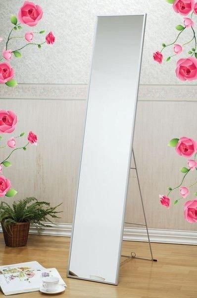 精緻鋁框立鏡 全身鏡 穿衣鏡 落地鏡~【馥葉】 【型號KC063C 】
