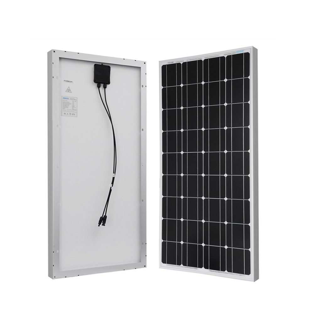 Renogy 100 Watt 12 Volt Monocrystalline Solar Panel kit 1