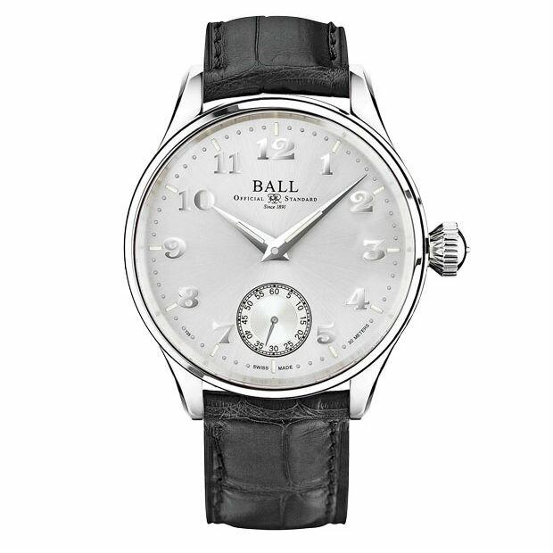 BALL 波爾錶 NM3038D-LL2J-WH Fireman 氚氣燈管經典復刻手上鍊機械腕錶 / 44mm - 限時優惠好康折扣