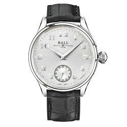 BALL 波爾錶 NM3038D-LL2J-WH Fireman 氚氣燈管經典復刻手上鍊機械腕錶/44mm