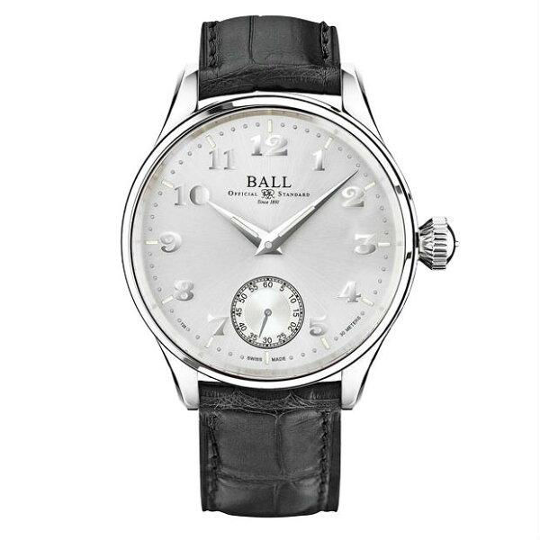 BALL波爾錶NM3038D-LL2J-WHFireman氚氣燈管經典復刻手上鍊機械腕錶44mm