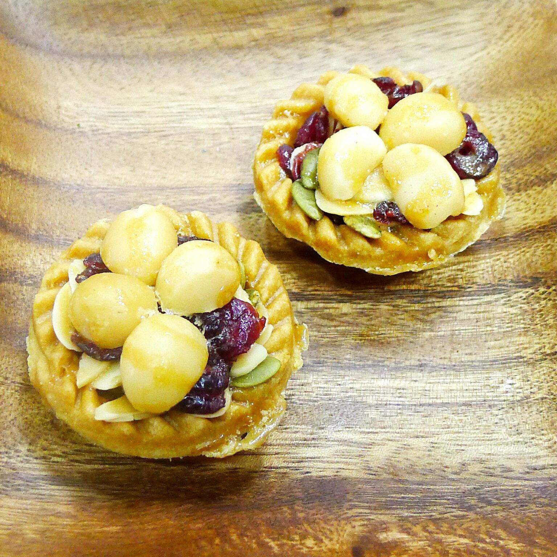 夏威夷堅果塔 (香甜口味) 9 入裝 - 盒(精緻禮盒)  ~ 分享香酥與健康滿分的美食