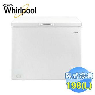 惠而浦 Whirlpool 臥式冰櫃198L WCF198W1