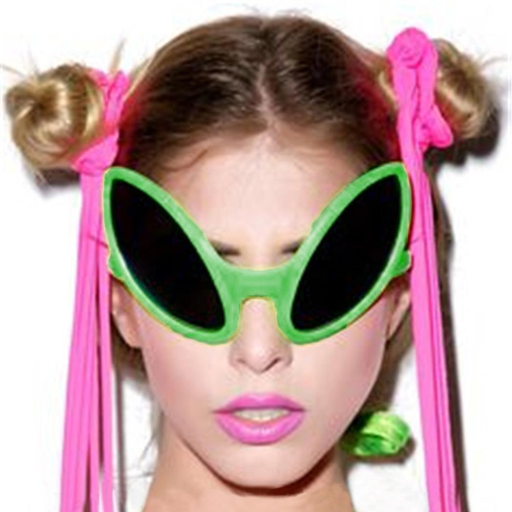 Funny Alien Cosplay Novelty Sunglasses Party Halloween Costume Accessories 4
