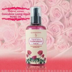 Concubine Loveing-Liquid 全身按摩潤滑油-浪漫玫瑰