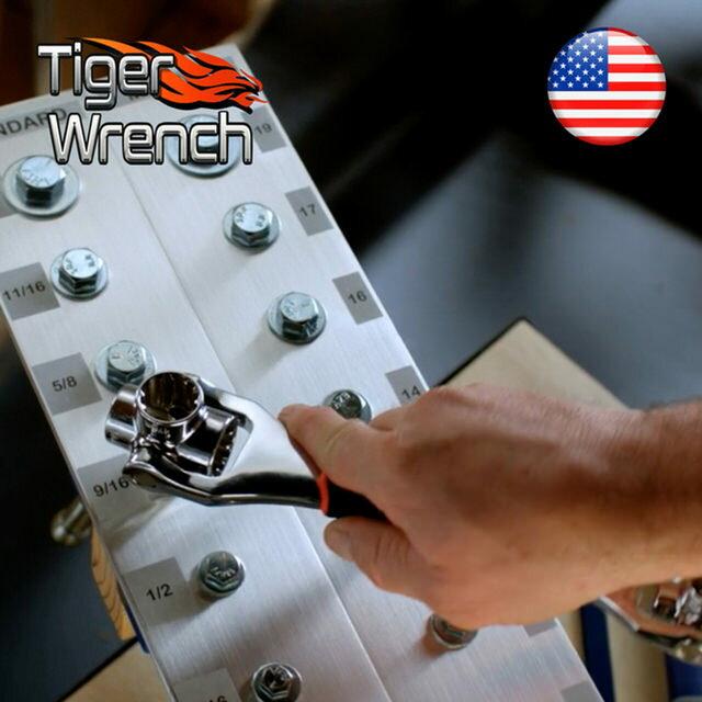 美國Tiger wrench 48合1萬用套筒扳手神器(新一代)-獨家總代理 3