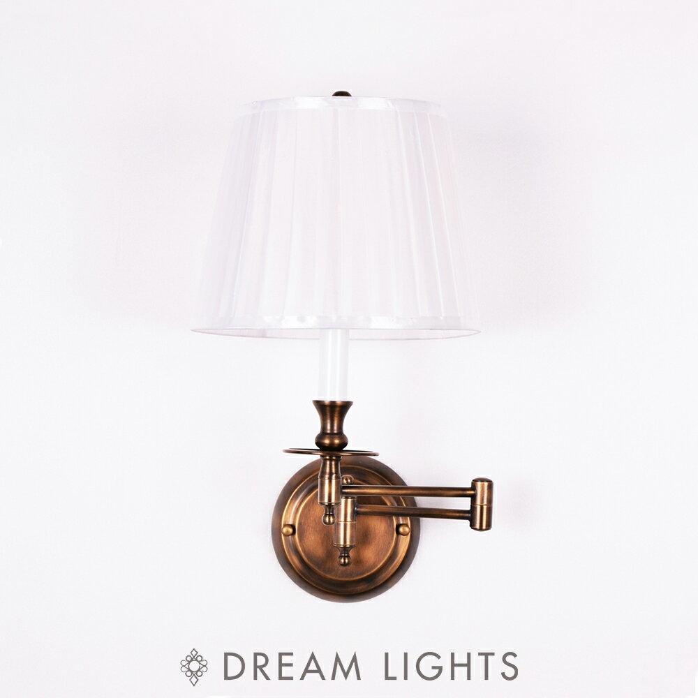 【DREAM LIGHTS獨家首創】法式鄉村風壁燈 Ivan A004-1W|現代風|簡約設計|客製化流行水晶燈飾