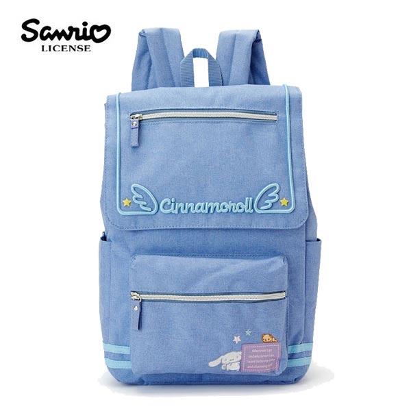【日本正版】大耳狗雙磁扣後背包背包書包喜拿Cinnamoroll三麗鷗Sanrio-984901