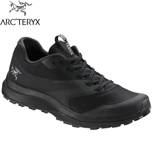 Arcteryx始祖鳥野跑鞋慢跑鞋運動鞋越野鞋NorvanLD男款22246黑鯊魚灰